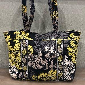 Vera Bradley Retired Print Satchel Handbag